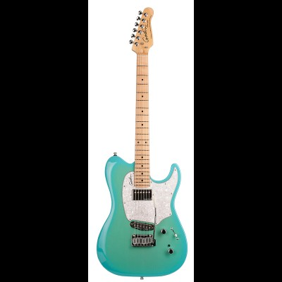 Godin Session Custom 59 - HG Maple Guitar (Coral Blue)