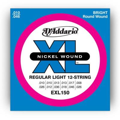 EXL150 Nickel Wound, 12-String, Regular Light