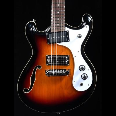 Danelectro 66 Guitar in 3 Tone Sunburst