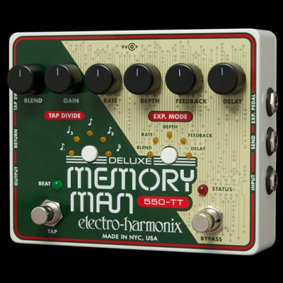 Electro Harmonix Deluxe Memory Man Tap Tempo 550 - Analog Delay