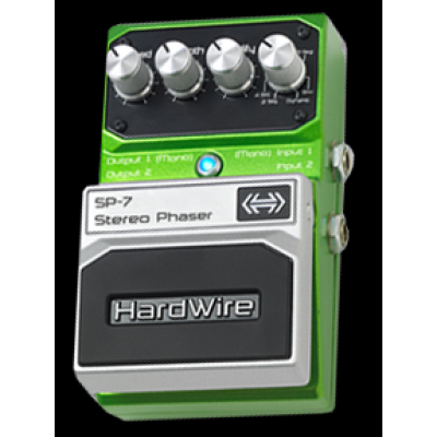 Digitech HardWire SP7 Stereo Phaser