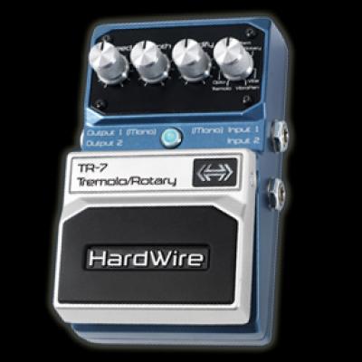 Digitech HardWire TR7 Tremolo Rotary pedal
