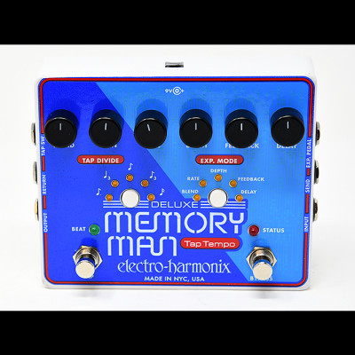 MT1100 Deluxe Memory Man with tap tempo