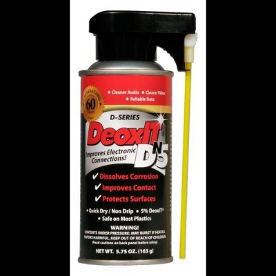 CAIG DeoxIT DN5S-6N Cleaning Spray (163g) - 5%, non-flammable