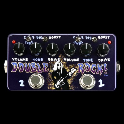 ZVEX Double Rock Hand Painted Distortion