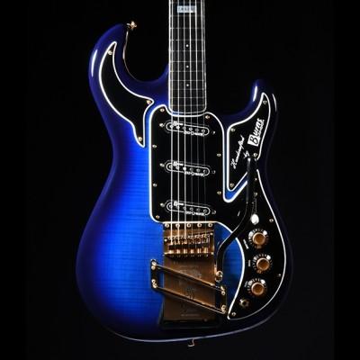 Burns Guitar Dream Noiseless Trans Blue