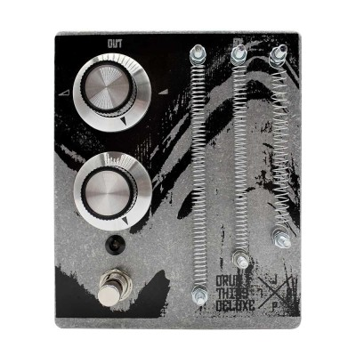 JPTR FX DRUMTHING DELUXE - Piezo Spring Preamp Pedal