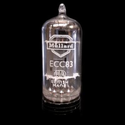 Mullard Ecc83 - Long Plate