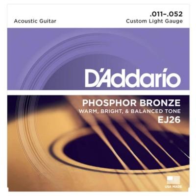 D'Addario EJ26 Custom Light 11-52