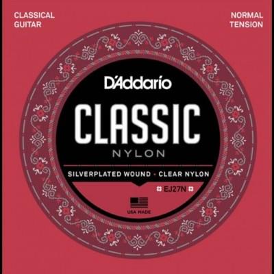 Daddario EJ27N-3D - Classical Nylon Guitar Strings Normal Tension (3 Sets)