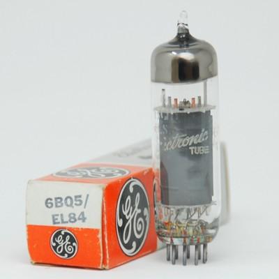 EL84/6BQ5 General Electric NOS Valve