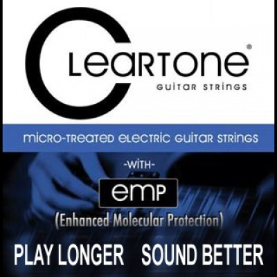 Cleartone Coated Electric Strings 10-46