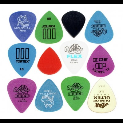 Dunlop Electric Pick Variety Pack (6 Pack)