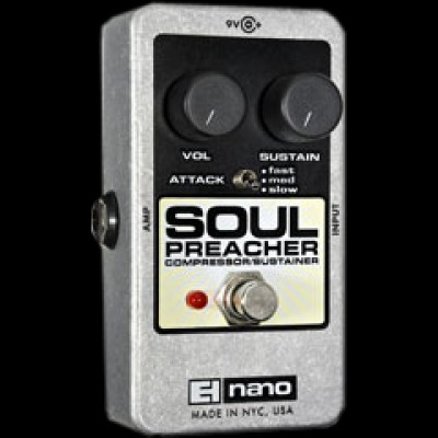 Electro harmonix Soul Preacher Compressor and Sustainer