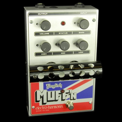 Electro Harmonix English Muff'n, Tube Distortion Pre-amp