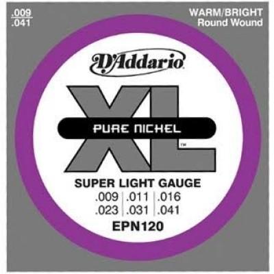 Daddario EPN120 XL Pure Nickel (Regular Light 9-41)