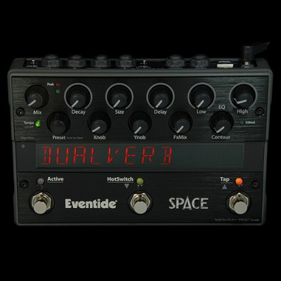 Space Stereo Reverb Stompbox