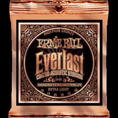 Everlast 2550 Coated Phosphor Bronze Extra Light (10-50)