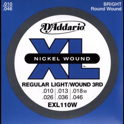 EXL110W Regular Light Wound 3rd 10-46