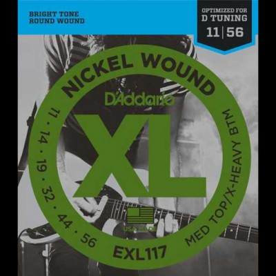 D'Addario EXL117 Medium Top/Heavy Bottom (11-56)