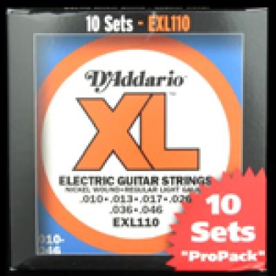 Daddario EXL Regular 10 Pack