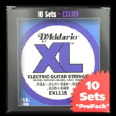 Daddario EXL115 Blues/Jazz Rock