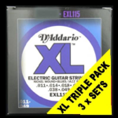 EXL115 Regular Triple Packs (£3.95per pack)