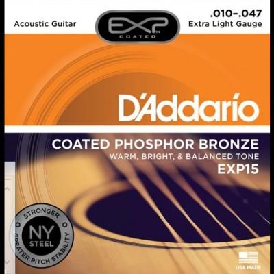 Daddario EXP15 Extra Light 10-47