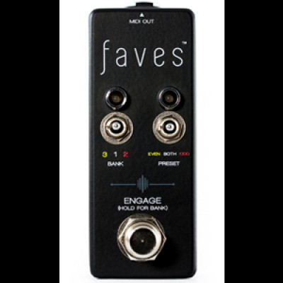 Chase Bliss Audio Faves pre-set Controller