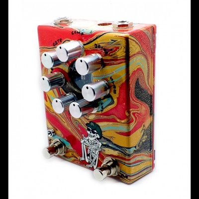 Z.Vex Fuzz Factory 7 (Hand Painted) Ltd edition C095