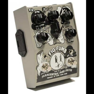Stone Deaf Fig Fumb Paracentric Fuzz Filter Pedal