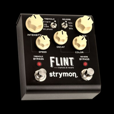 Flint Tremolo & Reverb Effects Pedal