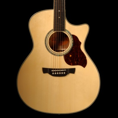 GAE8N Electro-Acoustic Guitar Natural Inc Gig Bag