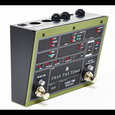 Free The Tone FT-2Y Flight Time Digital Delay Pedal