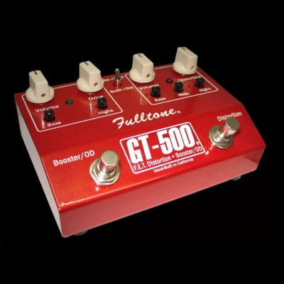 Fulltone USA GT500 Distortion / Booster Pedal