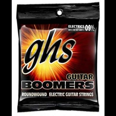 GHS Boomers GB9.5 Nickel Plated Guitar Strings 09.5-44 (Extra Light)