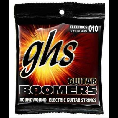 GHS Boomers GBZW Nickel Plated Steel Strings 10-60 - Zakk Wylde