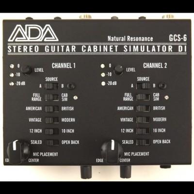 ADA GCS-6 Stereo Guitar Cabinet Simulator