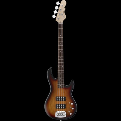 Tribute Bass Guitar L-2000 3-Tone Sunburst over Swamp Ash
