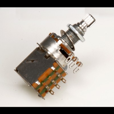 Guitar Tech Push/Pull Tone Potentiometer 500k 18mm Shaft GT937