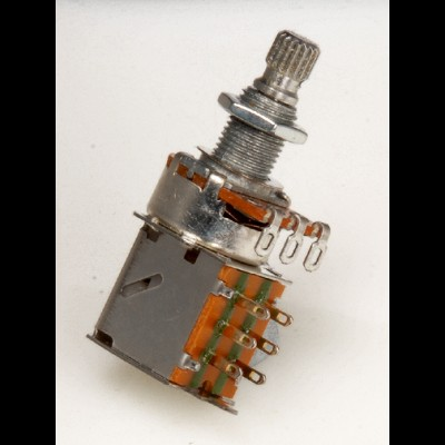 Push/Pull Tone Potentiometer 250k 18mm Shaft
