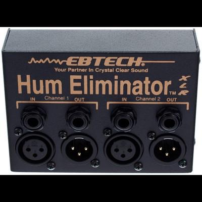 Ebtech HE2-XLR Hum Eliminator + XLR Inputs + 1/4 Jack