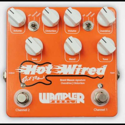Wampler Hot Wired V2 Overdrive / Distortion