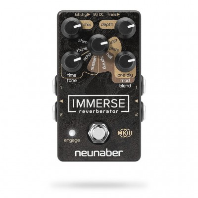 Neunaber Immerse MkII Reverberator Pedal