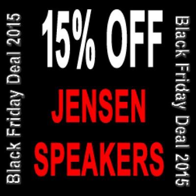 Jensen Speakers - Black Friday