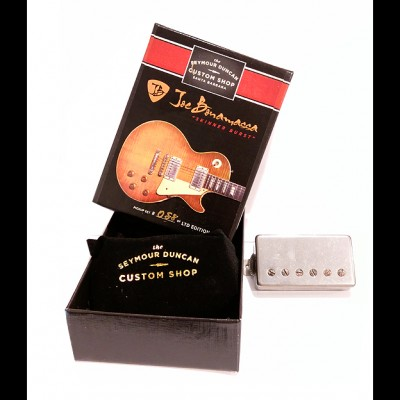 Seymour Duncan Custom Shop Joe Bonamassa Skinner Burst Pickup Set (Aged Nickel)