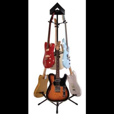 Kinsman Universal Guitar Display Stand (Holds 6) KGDS6