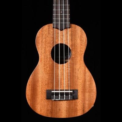 Laka VUS50EA Soprano Electro Acoustic Ukulele Front View