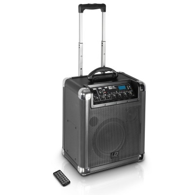 RoadJack 10 Portable PA Loudspeaker with Mixer + Bluetooth