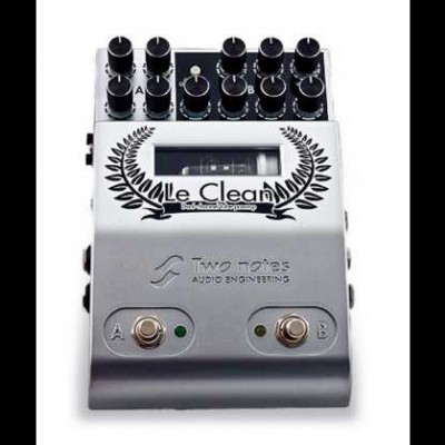 Two Notes Le Clean, Two Channel Tube Preamp